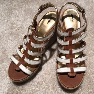 Mossimo wedge sandals, 8.5